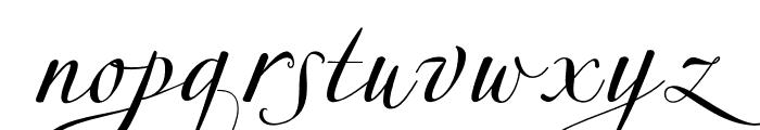 MillenialScript Font LOWERCASE