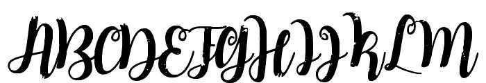 Mindless Stunner Distorted SemiBold Font UPPERCASE