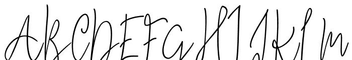Mindset Font UPPERCASE