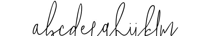 Mindset Font LOWERCASE