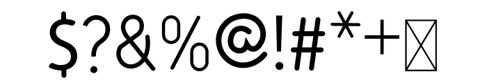 Mini Cake Font OTHER CHARS