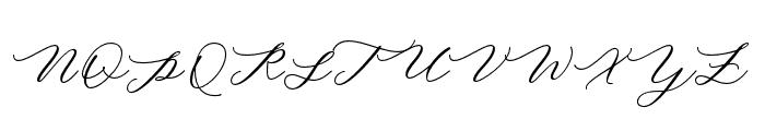 MinimalistScript Font UPPERCASE