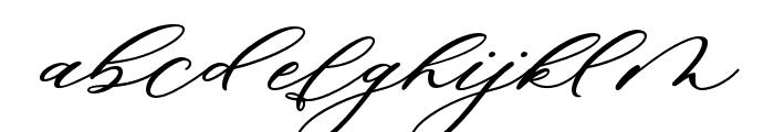 MinimalistScript Font LOWERCASE