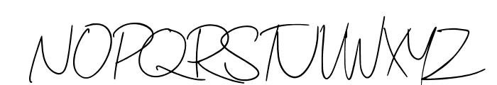 Minimalisty Font UPPERCASE
