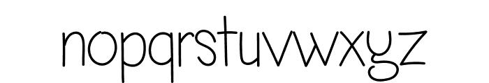 Minimall Jumi Font LOWERCASE