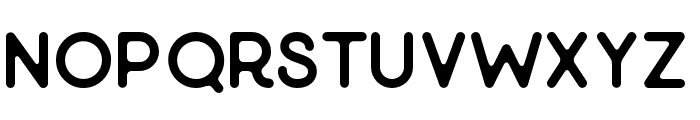 Minimalust-Gylph Font UPPERCASE