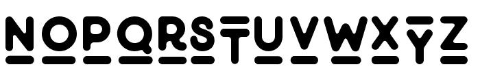 Minimalust-Gylph Font LOWERCASE