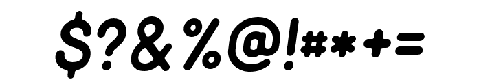 Minimalust-Italic Font OTHER CHARS