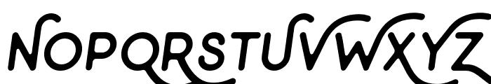 Minimalust-Italic Font UPPERCASE