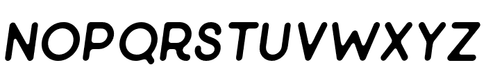 Minimalust-Italic Font LOWERCASE