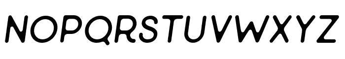 Minimalust-ThinItalic Font LOWERCASE