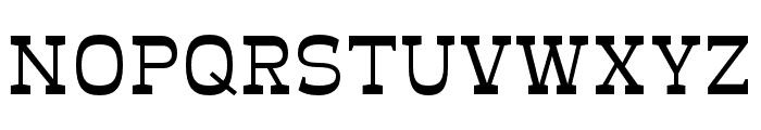 Mionic Regular Font UPPERCASE
