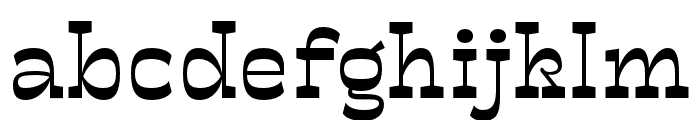 Mionic Regular Font LOWERCASE