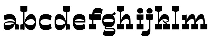 Mionic Variable Regular Font LOWERCASE
