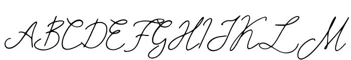 Mirages Regular Font UPPERCASE