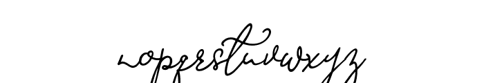 Mirages Regular Font LOWERCASE