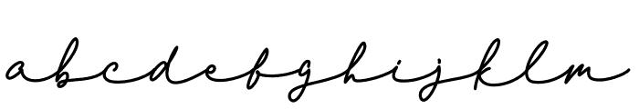 Mirela Charis Font LOWERCASE