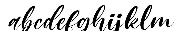 Mishella Italic Font LOWERCASE