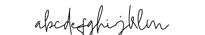 Mistice Font LOWERCASE