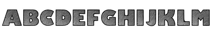 Moaren Regular Font UPPERCASE