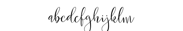 Mochafloat Font LOWERCASE