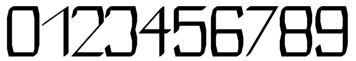Modares regular Font OTHER CHARS