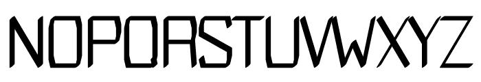 Modares regular Font UPPERCASE