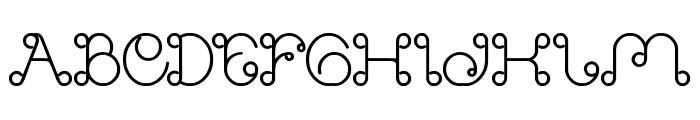 Modern Aristocrat Bold Font UPPERCASE