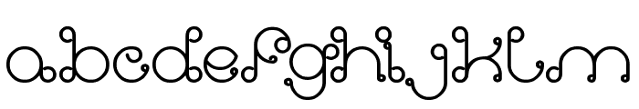 Modern Aristocrat Bold Font LOWERCASE