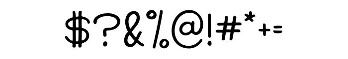 Modern Society Regular Font OTHER CHARS