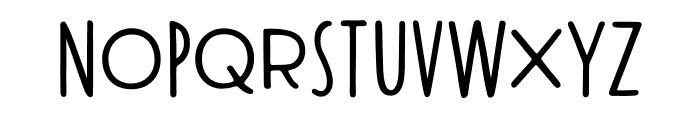 Modern Society Regular Font UPPERCASE