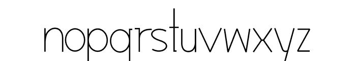 Modernilo Font LOWERCASE