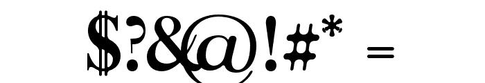 Moisses-BoldRound Font OTHER CHARS