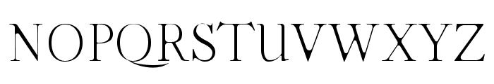 Moisses Light Round Font UPPERCASE