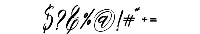 Moistureink Font OTHER CHARS
