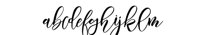 Moistureink Font LOWERCASE