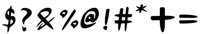 Mokuton Font OTHER CHARS