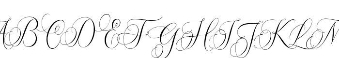 MolandikaScript Font UPPERCASE