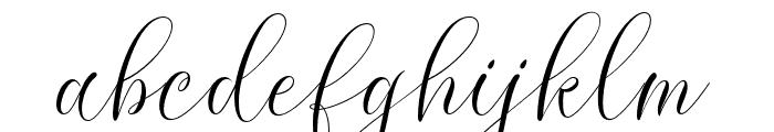 MolandikaScript Font LOWERCASE