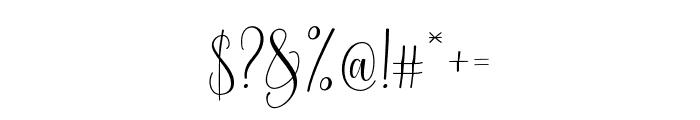 MollindaScript Font OTHER CHARS