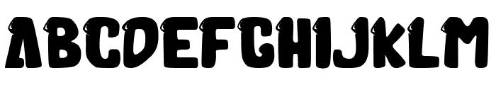 Molusca Font LOWERCASE