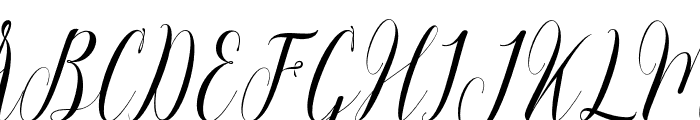 Momention Font UPPERCASE