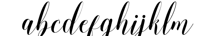 Momention Font LOWERCASE