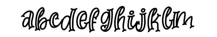 Moms Crafter Font LOWERCASE