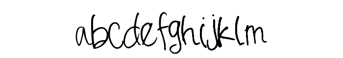 Monalisha Font LOWERCASE