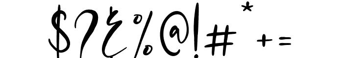 Mondela Font OTHER CHARS