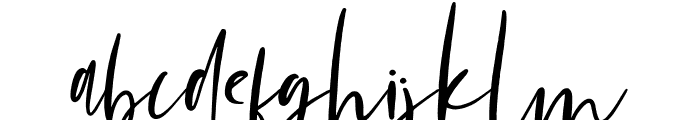 Mondela Font LOWERCASE