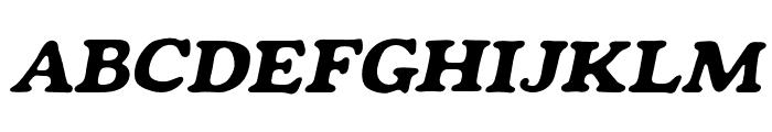 Mondeur Italic Font UPPERCASE