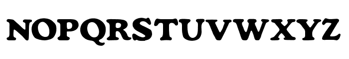 Mondeur Regular Font UPPERCASE