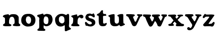 Mondeur Regular Font LOWERCASE